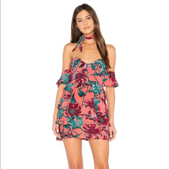 d95d98e2d6 For Love And Lemons Dresses   Skirts - For Love   Lemons STRAPLESS DRESS IN  PINK